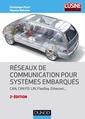 Couverture de l'ouvrage Réseaux de communication pour systèmes embarqués
