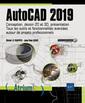 Couverture de l'ouvrage AutoCAD 2019 - Conception, dessin 2D et 3D, présentation