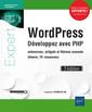 Couverture de l'ouvrage WordPress - Développez avec PHP