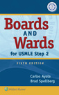 Couverture de l'ouvrage Boards and Wards for USMLE Step 2