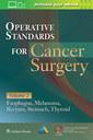 Couverture de l'ouvrage Operative Standards for Cancer Surgery