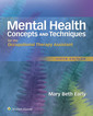 Couverture de l'ouvrage Mental Health Concepts and Techniques for the Occupational Therapy Assistant