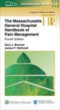 Couverture de l'ouvrage The Massachusetts General Hospital Handbook of Pain Management