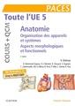 Couverture de l'ouvrage Toute L'UE 5 - Anatomie - Cours + QCM