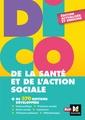 Couverture de l'ouvrage Dico de la sante et de l'action sociale - 4e edition - dictionnaire