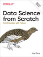 Couverture de l'ouvrage Data Science from Scratch