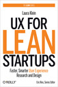 Couverture de l'ouvrage UX for Lean Startups