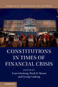 Couverture de l'ouvrage Constitutions in Times of Financial Crisis