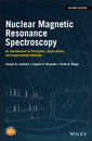 Couverture de l'ouvrage Nuclear Magnetic Resonance Spectroscopy