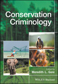 Couverture de l'ouvrage Conservation Criminology