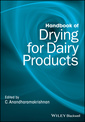 Couverture de l'ouvrage Handbook of Drying for Dairy Products