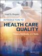 Couverture de l'ouvrage Introduction to Health Care Quality