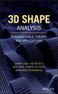 Couverture de l'ouvrage 3D Shape Analysis