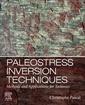 Couverture de l'ouvrage Paleostress Inversion Techniques