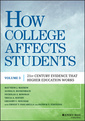 Couverture de l'ouvrage How College Affects Students