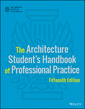 Couverture de l'ouvrage The Architecture Student′s Handbook of Professional Practice
