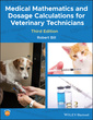 Couverture de l'ouvrage Medical Mathematics and Dosage Calculations for Veterinary Technicians