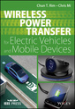 Couverture de l'ouvrage Wireless Power Transfer for Electric Vehicles and Mobile Devices