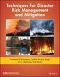 Couverture de l'ouvrage Techniques for Disaster Risk Management and Mitigation