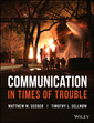 Couverture de l'ouvrage Communication in Times of Trouble