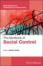 Couverture de l'ouvrage The Handbook of Social Control