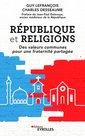 Couverture de l'ouvrage République et religions