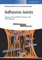 Couverture de l'ouvrage Adhesive Joints