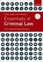 Couverture de l'ouvrage Smith, Hogan, & Ormerod's Essentials of Criminal Law