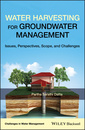 Couverture de l'ouvrage Water Harvesting for Groundwater Management