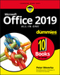 Couverture de l'ouvrage Office 2019 All-in-One For Dummies