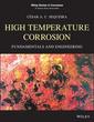 Couverture de l'ouvrage High Temperature Corrosion