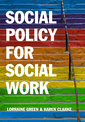 Couverture de l'ouvrage Social Policy for Social Work