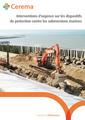Couverture de l'ouvrage Interventions d'urgence sur les dispositifs de protection contre les submersions marines