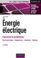 Couverture de l'ouvrage Énergie électrique - Exercices et problèmes