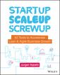 Couverture de l'ouvrage Startup, Scaleup, Screwup