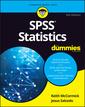 Couverture de l'ouvrage SPSS Statistics For Dummies