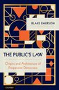 Couverture de l'ouvrage The Public's Law