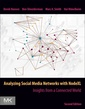 Couverture de l'ouvrage Analyzing Social Media Networks with NodeXL