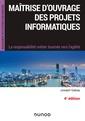 Couverture de l'ouvrage Maîtrise d'ouvrage des projets informatiques