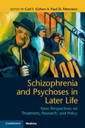 Couverture de l'ouvrage Schizophrenia and Psychoses in Later Life