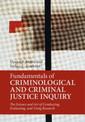 Couverture de l'ouvrage Fundamentals of Criminological and Criminal Justice Inquiry