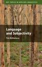 Couverture de l'ouvrage Language and Subjectivity