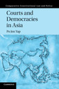 Couverture de l'ouvrage Courts and Democracies in Asia