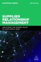 Couverture de l'ouvrage Supplier Relationship Management