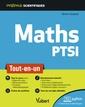 Couverture de l'ouvrage Mathematiques ptsi