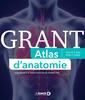 Couverture de l'ouvrage Grant atlas d'anatomie