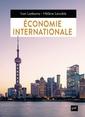 Couverture de l'ouvrage Economie internationale