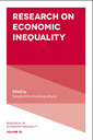 Couverture de l'ouvrage Research on Economic Inequality