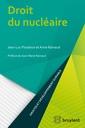 Couverture de l'ouvrage Droit du nucleaire