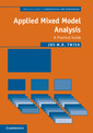 Couverture de l'ouvrage Applied Mixed Model Analysis